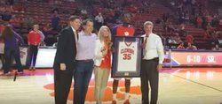 WATCH: Clemson seniors honored before UVA game