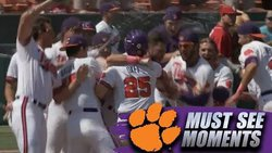 WATCH: Wilson's walk-off single pushes Clemson past NC State