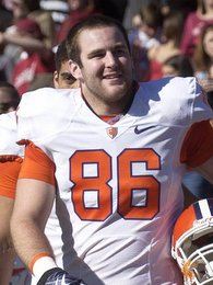 Former Clemson TE to be sideline radio announcer