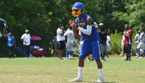 Bryant worked out at the Palmetto Showdown 7-on-7 Tournament at Byrnes over the weekend