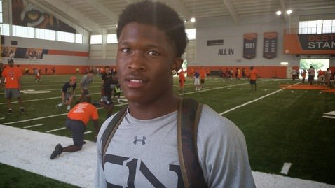 McCloud is just one of three Tampa area players that have given verbals to Clemson