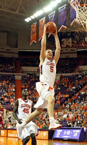 Clemson is one of 19 schools nationally to play in the NCAA Tournament each of the last four years.