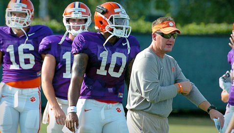 News and notes from Saturday's scrimmage in Death Valley