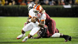 Tigers hit bottom in 34-13 loss to South Carolina