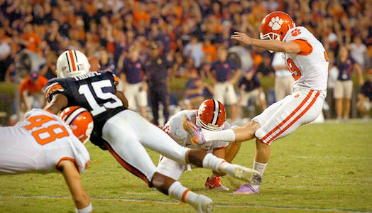 Catanzaro says missed Auburn kick is motivation