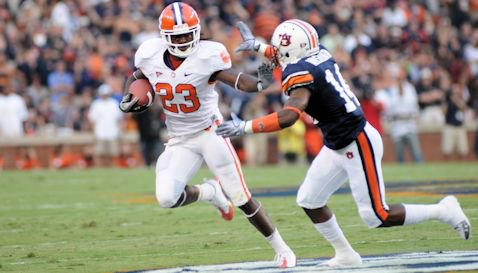 Andre Ellington rushed 22 times for 140 yards against Auburn last year.