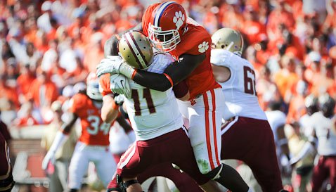 Instant Halftime Analysis: Clemson 23, Boston College 7
