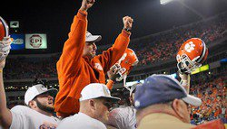 Fired up Swinney spurs Tigers to ACC title