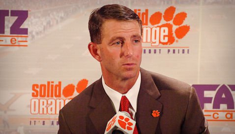 The national media hasn't given much love to the Tigers, but Swinney said he expects his team will surprise some people.