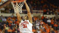 Clemson Basketball announces 2012-13 award winners
