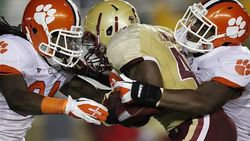 Hopkins' big day and second half defense help Tigers top BC