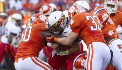 Clemson defeats Maryland 45-10 in Death Valley, moves to 9-1 on the season