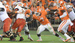 Patient Steward ready to finally make his mark at Clemson