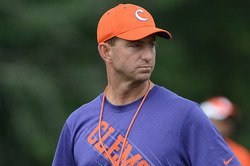 Sunday night news and notes - Swinney discusses injury situation