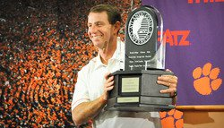 Dabo knew last year's Tigers could be special; what does 2012 hold?