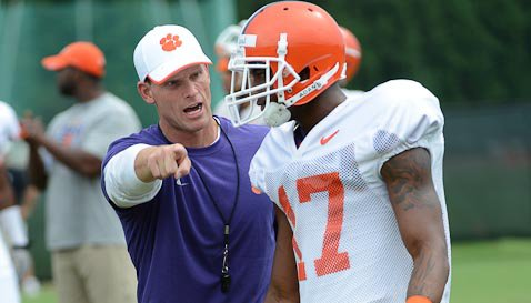 Venables says he likes all the talent this season in the secondary.