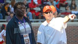 Clemson coaches chase final targets