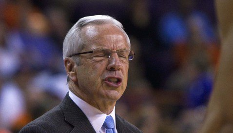 Roy Williams hasn't liked what he has seen out of UNC this season (Photo: Joshua S. Kelly)