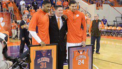 Tigers fall to Boston College on Senior Night