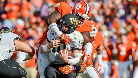 Reader lowers the boom on Wake quarterback Tanner Price (Photo: Carl Ackerman)