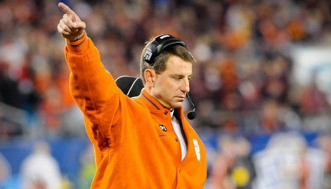 Swinney has the program pointed in the right direction