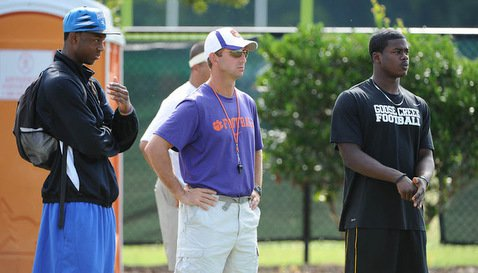 Swinney has recruited well, including WR Mike Williams (L)