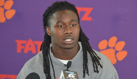 Watkins talks to the media Tuesday in the WestZone