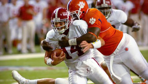 Clemson last faced Alabama in the 2008 Chick-fil-A College Kickoff game.