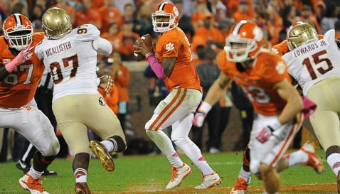 Clemson fans will only have to root for FSU on Saturday according to CBS' Jerry Palm.