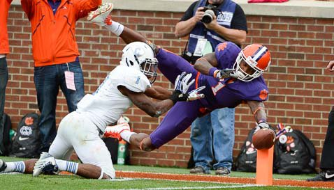 Instant halftime Analysis: Clemson 42, The Citadel 0