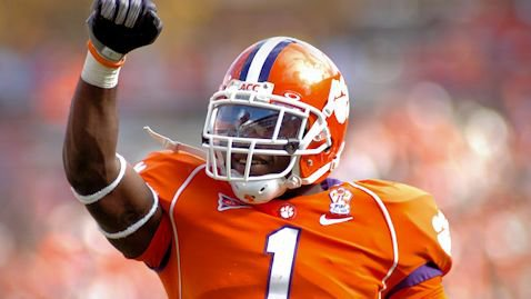 James Davis is Clemson's second all-time leading rusher.