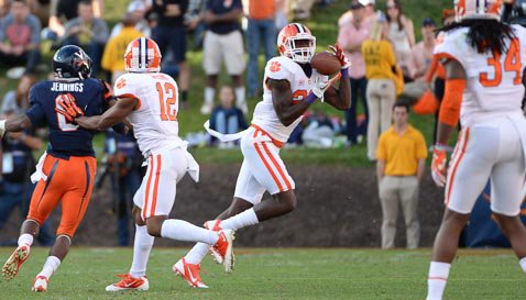 Swinney says Clemson fans will continue to see more of Jayron Kearse