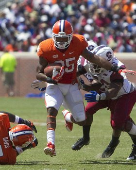 Clemson reserves help Tigers to 52-13 win over S.C. State