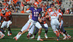 Orange defeats White, 34-26, in Clemson spring game