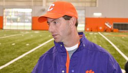 Practice notes: Swinney breaks down QB battle