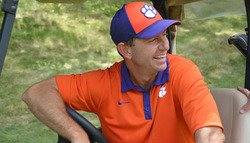 Swinney previews Georgia, talks GameDay, Danny Ford and injuries