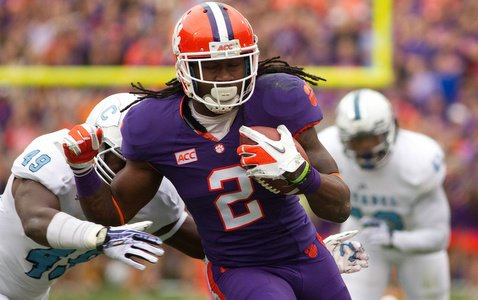 Watkins caught seven passes for 58 yards in probably his last game in Death Valley