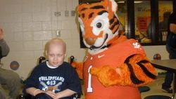 Clemson family helps make Grayson's big night a special one
