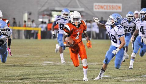 Massey has put up video game numbers during his Mauldin career (Photo: Bill Brucker)