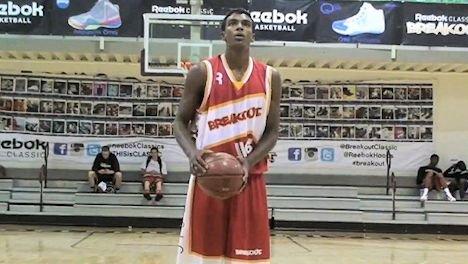 Grantham averaged 18.3 points and 9.1 rebounds per game his senior season.