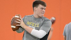 Fast-rising 2015 QB leaves Clemson with offer