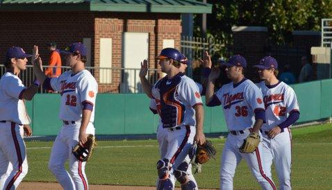 Baseball: Clemson 12 Virginia Tech 2 Final