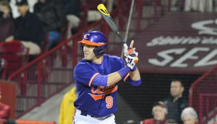 Former Clemson OF called up to MLB, in lineup Sunday