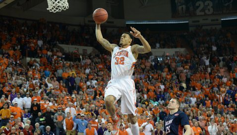 McDaniels now has 56 dunks, third-most in school history for a single season.
