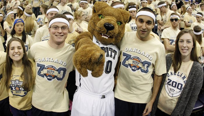 The Oakland Zoo sits on top of opposing teams according to Brownell (Photo by Charles LeClaire)