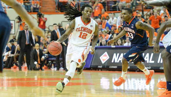 Hall's last-second drive pays off as Tigers top Illini in NIT thriller