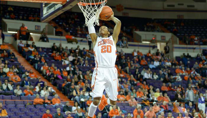 Jordan Roper's two-handed dunk as time expired in the first half.
