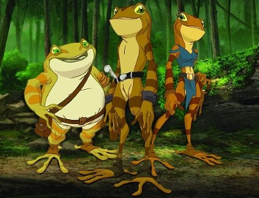 Army of Frogs to start animated series from creator Trevor Pryce