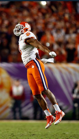 Vic Beasley thinks the Tigers can fly high in 2014 (Photo: Robert Mayer)