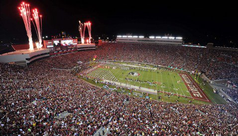 The atmosphere at FSU should be electric on September 20th (Photo by: Melina Vastola)